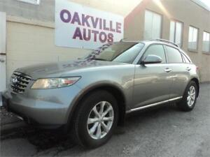 2006 INFINITI FX35 AWD V6 BACKUP CAMERA SAFETY WARRANTY INCL