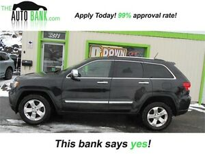 2012 Jeep Grand Cherokee Limited| **ONE OWNER** NAV!