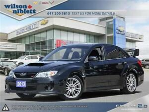 2013 Subaru Impreza WRX STI Sedan - Low KM's, NO ACCIDENTS!
