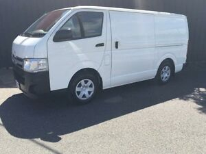 2013 Toyota Hiace TRH201R MY12 White 5 Speed Manual Van Moorabbin Kingston Area Preview