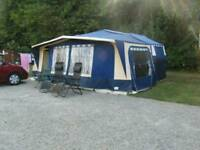 Conway crusader folding camper