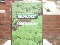 Qualcast New 800w rotovator Boxed