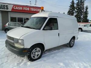 2003 CHEVY ASTRO ALL WHEEL DRIVE (CARGO0) 147 883 KMS