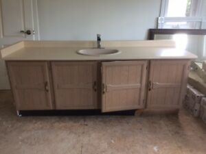 Bathroom Vanity 72 inch used