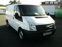 Ford Transit T280 SWB LOW ROOF VAN TDCI 125PS DIESEL MANUAL WHITE (2013)