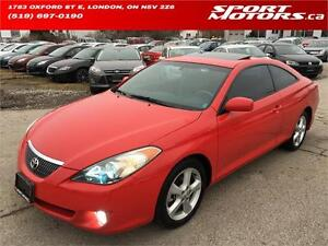 2004 Toyota Camry Solara SLE! Navigation! Rust Proofed! A/C!