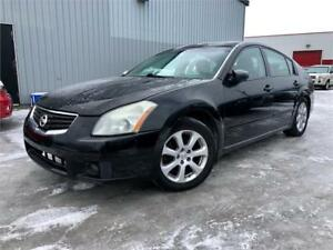 2007 NISSAN MAXIMA SE 147,000KM ! CUIR / TOIT / MAGS ! PROPRE !