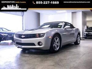2012 Chevrolet Camaro 2LT, Convertible, 3M Hood, Leather, Heated
