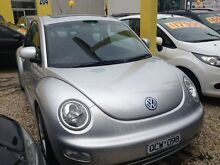 2000 Volkswagen Beetle 9C Silver 4 Speed Automatic Coupe Cranbourne Casey Area Preview