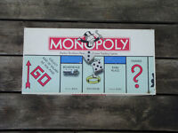 Vintage 1985 Monopoly Board Game