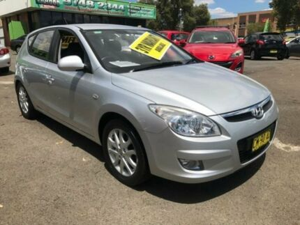 2009 Hyundai i30 FD MY09 SLX Silver 5 Speed Manual Hatchback Lidcombe Auburn Area Preview