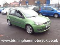 2007 (56 Reg) Ford Fiesta 1.4 ZETEC CLIMATE 5DR Hatchback GREEN + LOW MOT