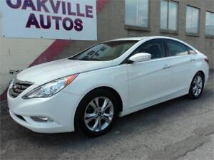 2011 Hyundai Sonata Limited SUNROOF LEATHER HTD SEATS SAFETY INC