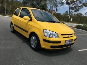 2004 Hyundai Getz Auto GL 1 Owner Yellow 4 Speed Auto Active Select Hatchback Arundel Gold Coast City Preview