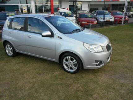 2010 Holden Barina TK MY10 Silver 4 Speed Automatic Hatchback Kippa-ring Redcliffe Area Preview