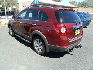 2010 Holden Captiva CG Burgundy Sports Automatic Wagon Mudgee Mudgee Area Preview
