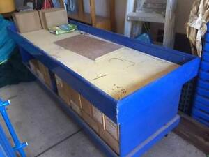 Work Bench or Storage Bench on wheels Oatley Hurstville Area Preview