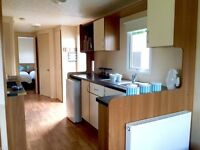 static caravan for sale in northumberland- site fees included- 12 month owners season
