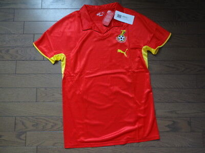 Ghana 100% Authentic Player Issue Soccer Jersey Shirt M 2008 Away Still NWT Rare image
