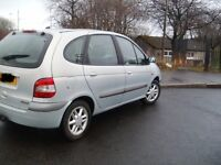 03 Silver Renault Megane Scenic 1.9 DCI