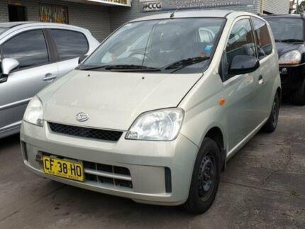 2003 Daihatsu Charade L251S Cream 4 Speed Automatic Hatchback Granville Parramatta Area Preview