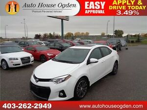 2014 Toyota Corolla Sport Leather Sunroof B cam