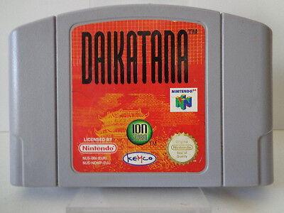 N64 Juego - Daikatana (USK18) (Pal) (Módulo)