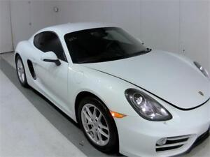 2014 PORSCHE CAYMAN COUPE 6SPEED MANUAL 41KM NAVIGATION