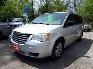 2008 Chrysler Town & Country Touring,,certified