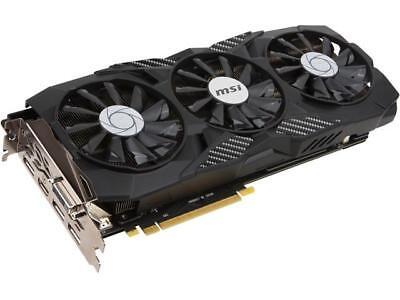 MSI GeForce GTX 1080 DirectX 12 GTX 1080 DUKE 8G OC 8GB 256-Bit GDDR5X PCI Expre