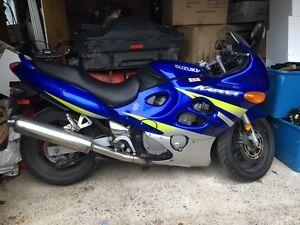Like New Suzuki 600 Katana