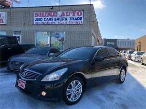 2011 Infiniti G37x AWD PREMIUM BACK UP CAMERA