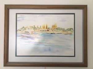 Brian Wallace Rottnest Island water colour original Duncraig Joondalup Area Preview