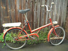 Vintage Raleigh 20 Single Speed Bike