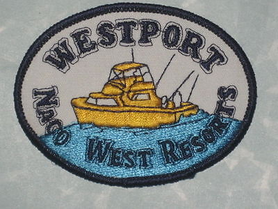Westport Naco West Resorts  Patch   3 1 2  X 2 5 8