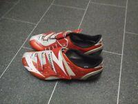 Diadora cycling shoes.