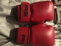 Boxing gloves x3 ... pads x2
