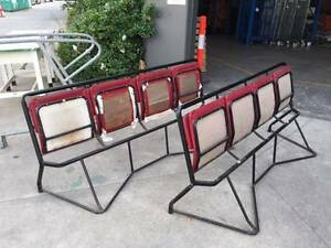 Antique stadium hall chairs (row 4) Braybrook Maribyrnong Area Preview