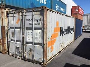 Cheap 20ft Shipping Container. Bgrade, Delivery via TiltTray Avai Sunshine West Brimbank Area Preview