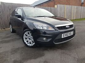 FORD FOCUS 1.6 ZETEC 5DR (black) 2010