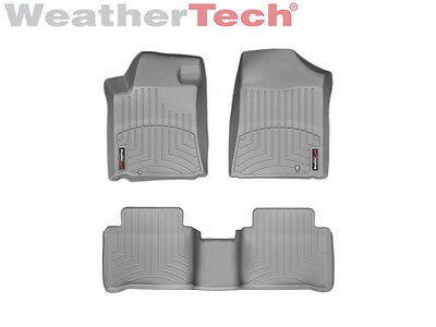 WeatherTech Floor Mats FloorLiner for Nissan Maxima - 09-14 - 1st/2nd Row- Grey