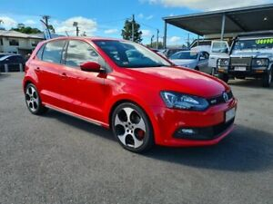 2013 Volkswagen Polo 6R MY13.5 GTI DSG Flash Red 7 Speed Sports Automatic Dual Clutch Hatchback Bungalow Cairns City Preview