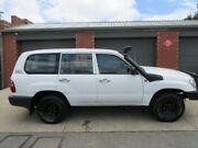 2004 Toyota Landcruiser HZJ105R (4x4) White 5 Speed Manual 4x4 Wagon Gilles Plains Port Adelaide Area Preview