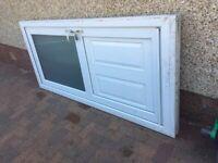 Free Door & Double Glazed Window