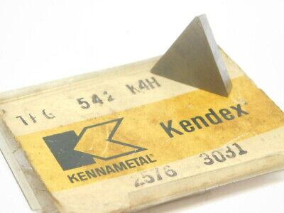 New Surplus 1pc. Kennametal Tpg 542 Grade K4h Carbide Insert