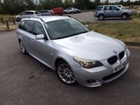 BMW 5 Series*3.0 535d Sport Touring*5dr,2005, Estate,2 OWNERS,FULL SERVICE HISTORY,HPI CLEAR