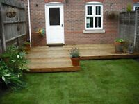 Decking and fencing by time served joiner