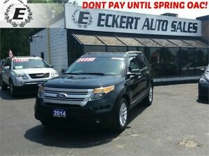 2014 Ford Explorer XLT WITH LEATHER / NAV / 3RD ROW SEATS