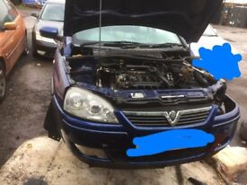 Vauxhall Corsa C Breaking For Spares/parts
