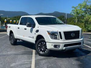 2019 Nissan Titan XD Pro 4X Titan Pearl White Automatic Crewcab Bungalow Cairns City Preview